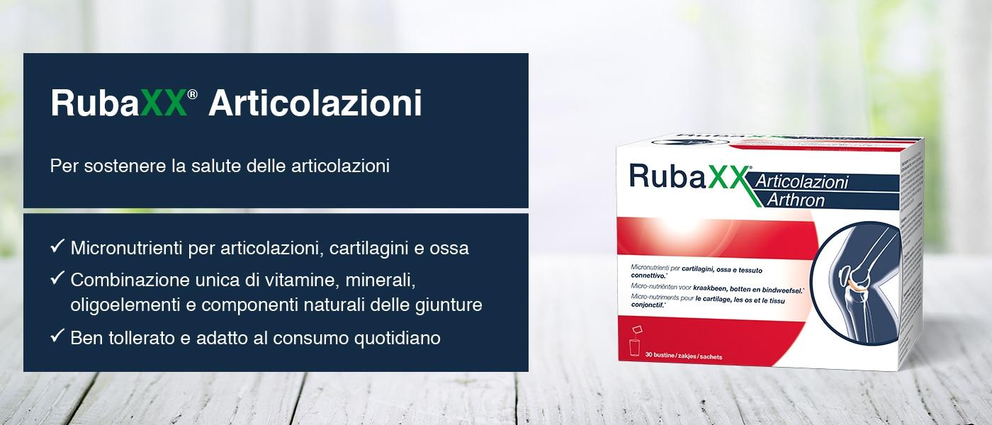 RubaXX<sup>®</sup> Articolazioni